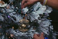 Hecho le a la Navidad Imagenes de archivo