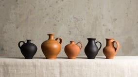 Hecho a mano de cerámica decorativo Fotografía de archivo libre de regalías