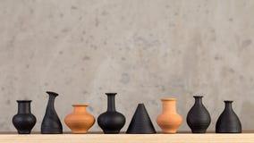 Hecho a mano de cerámica decorativo Imagen de archivo
