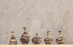 Hecho a mano de cerámica decorativo Fotografía de archivo