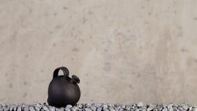 Hecho a mano de cerámica decorativo Imagen de archivo libre de regalías