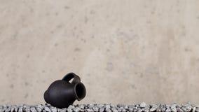 Hecho a mano de cerámica decorativo Imágenes de archivo libres de regalías