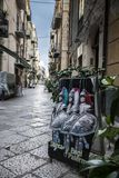 Hecho a mano siciliano tradicional de la marioneta Imagen de archivo libre de regalías