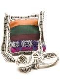 Hecho punto lleve la bolsa Honduras America Central Imagen de archivo libre de regalías