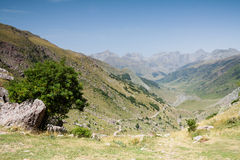 Hecho's Valley. Spanish Pyrenees Stock Photos