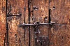 Heck και κλειδαριά Στοκ εικόνα με δικαίωμα ελεύθερης χρήσης