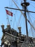 Heck des türkischen galleon Stockbild