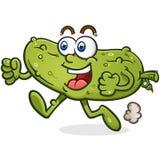 Heck-Monster-Zeichentrickfilm-Figur mit einem grotesken schmelzenden Gesicht vektor abbildung