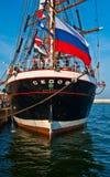 Heck von einem Sailship Stockfotografie