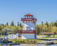 Hecla Island Boat Launch Royalty Free Stock Images