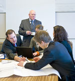 Hectic Meeting Royalty Free Stock Photos