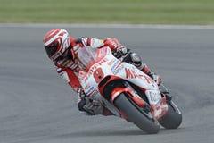 Hector barbera, gp moto, 2011, Stock Foto's