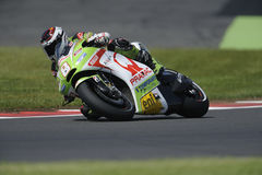 Hector barbera, moto gp 2012 Royalty Free Stock Photo