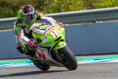 Hector Barbera pilot of MotoGP Royalty Free Stock Photography