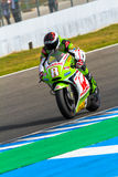 Hector Barbera pilot of MotoGP Stock Photo