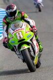 Hector Barbera pilot of MotoGP Royalty Free Stock Image