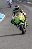 Hector Barbera pilot of MotoGP Stock Image