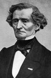 Hector Berlioz. (1803-1869) on engraving from 1908. French Romantic composer. Engraved by unknown artist and published in The world's best music, famous songs Royalty Free Stock Image