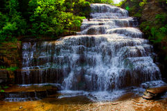Hector Falls in the Finger Lakes Region Stock Photo
