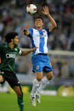 Hector Moreno of RCD Espanyol Royalty Free Stock Image