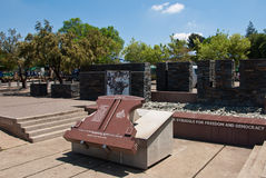 Hector Pieterson memorial. Memorial for Hector Pieterson, the first victim in Soweto riots, South Africa Stock Photos