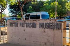 Hector Pieterson Memorial Museum exterior en Soweto Johannesburgo Fotos de archivo