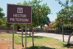 Hector Pieterson memorial Stock Image