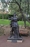 Hector- und Andromache-Skulptur, Monaco Lizenzfreie Stockbilder