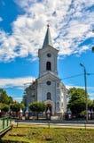 Church in Hecznarowice in Poland. Royalty Free Stock Photo
