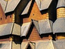 Heddal Daubekirche Stockbilder