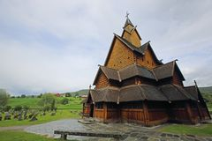 Heddal Stave Church Royalty Free Stock Photo