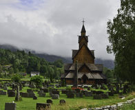 Heddal Stave Church Royalty Free Stock Photos