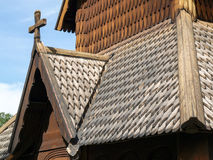 Heddal Stave Church Stock Photo