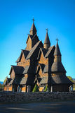 Heddal Stave church in Norway Stock Images