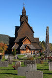 Heddal Stave church in Norway Royalty Free Stock Photography