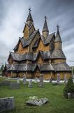 Heddal Stave Church (Norwegen) stockbilder
