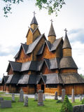 Heddal Stave Church in Telemark, Norway Stock Photo