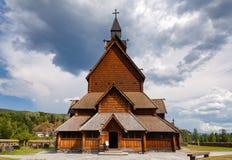 Heddal Stave Church Telemark Norway Scandanavia Fotografia Stock