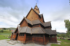 Heddal stavkirke in Norway Stock Photos