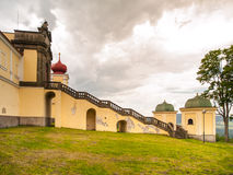 Hedec Monastery on Mountain of Holy Mother Royalty Free Stock Images
