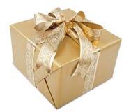 Heden met Gouden Lint Royalty-vrije Stock Fotografie