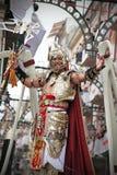 Heder och kristenfestival, Alcoy, Spanien Arkivfoto