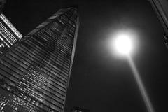 Hedersgåva i ljus Arkivfoton