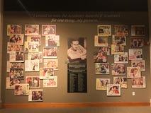 Hedersgåva till Bob Hope på världsgolf Hall av berömmelse royaltyfri foto
