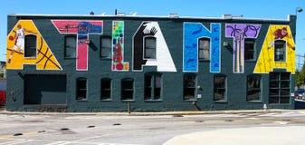 Hedersgåva till staden av Atlanta Arkivfoton