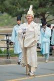 Hedersgåvor Sydkorea traditionella händelser för det avlidet arkivbilder