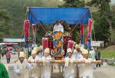 Hedersgåvor Sydkorea traditionella händelser för det avlidet royaltyfria bilder