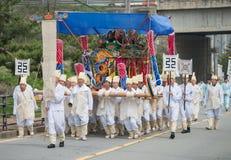 Hedersgåvor Sydkorea traditionella händelser för det avlidet royaltyfri bild