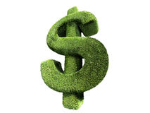 Hedge dollar symbol Stock Photos