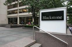 Hedge fund di Blackstone fotografia stock libera da diritti